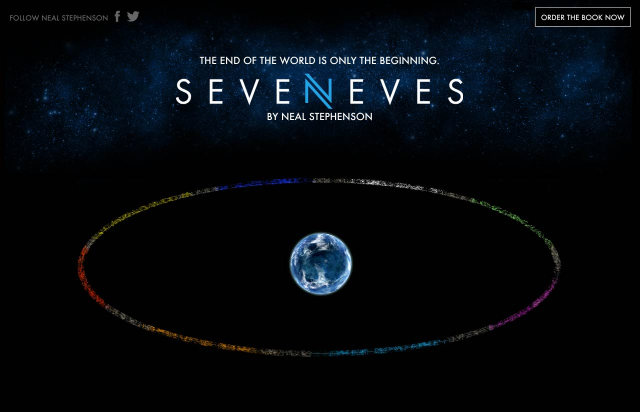 Seveneves A Novel Neal Stephenson Hardcover C. 2015